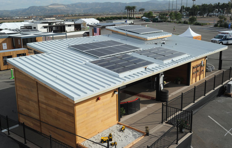 Solar decathlon gallery of houses for Solar decathlon 2015