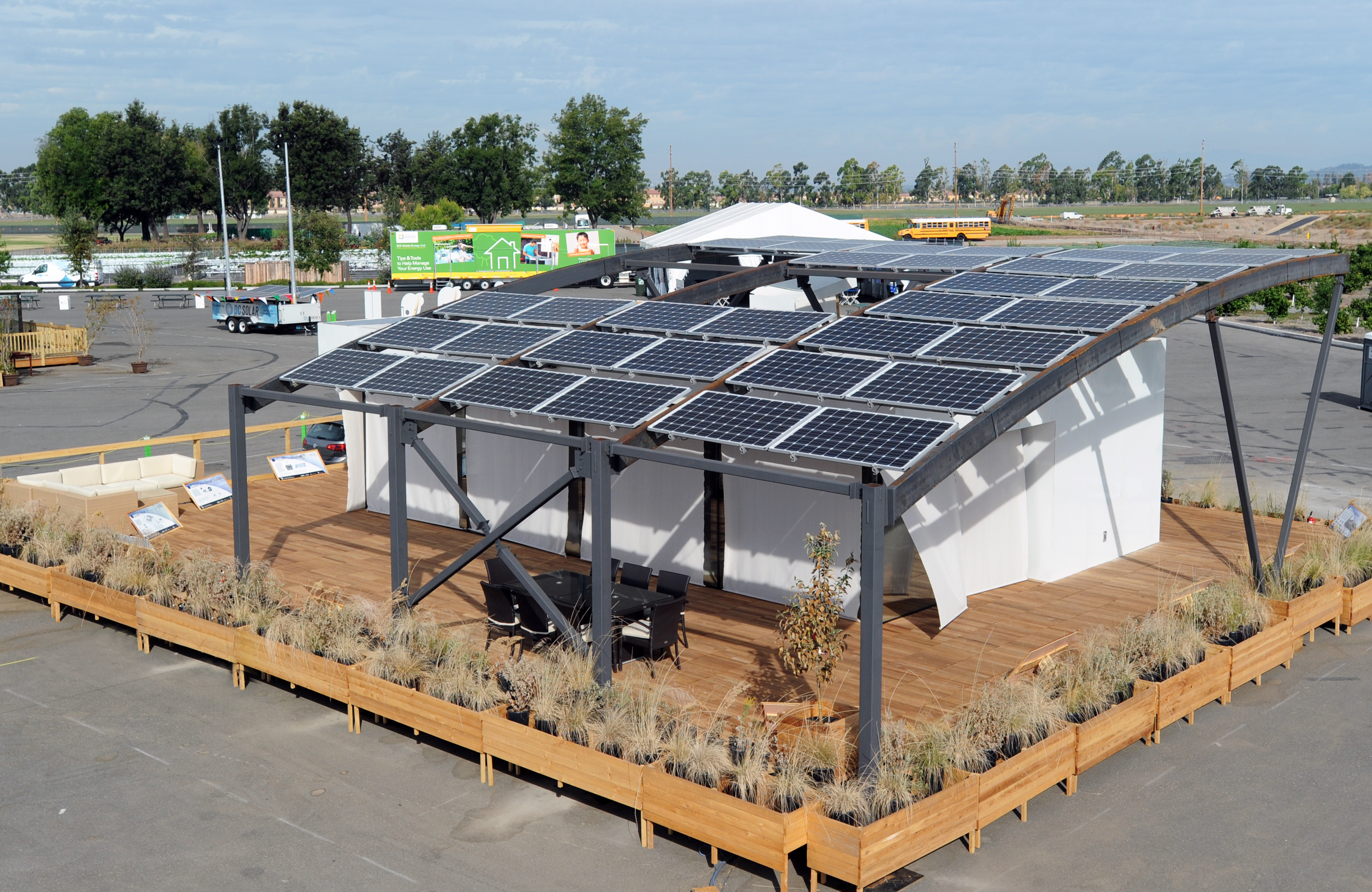 Solar decathlon 2015 west virginia university and for Solar decathlon 2015