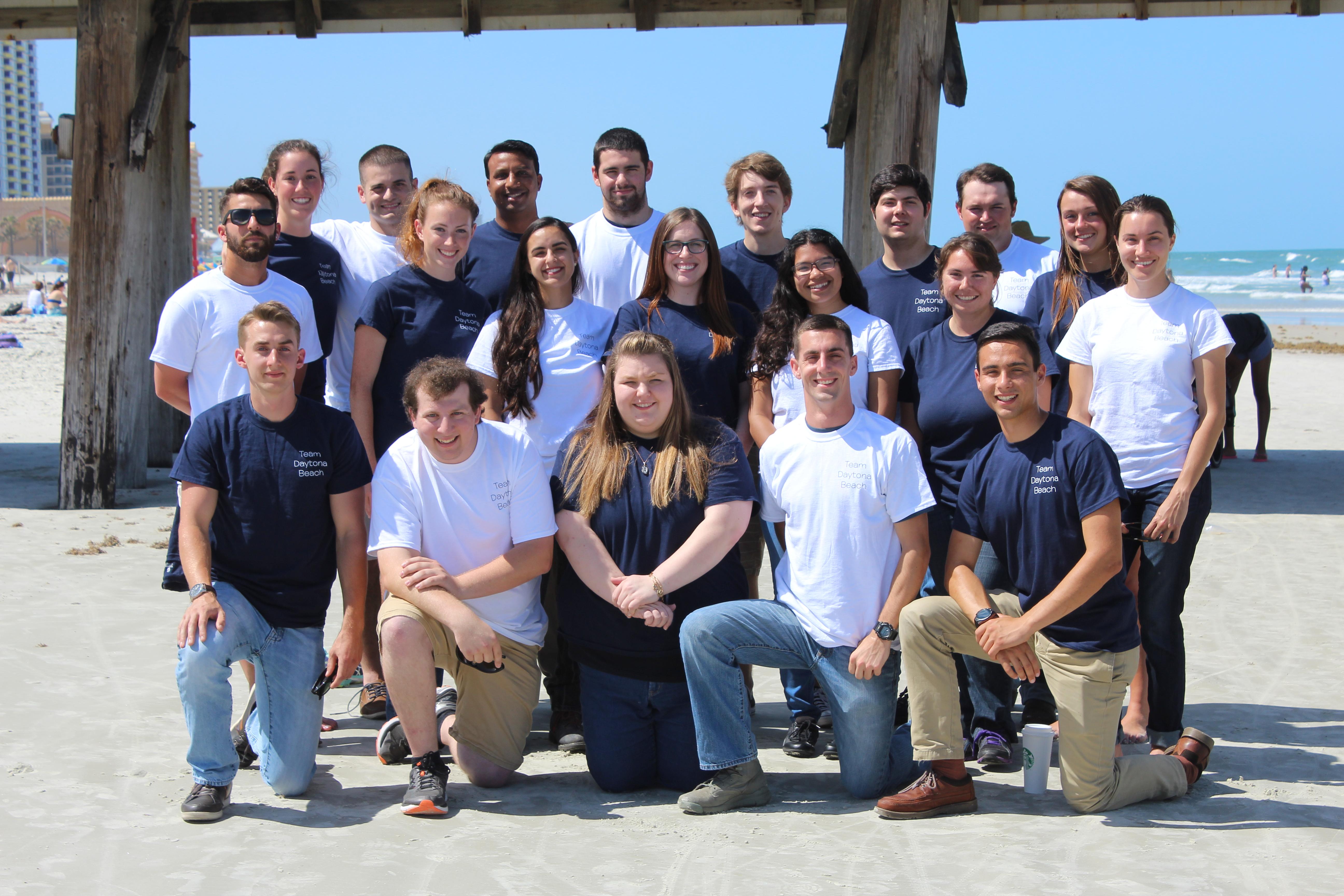 Group Photo Of The Daytona Beach Team Members Solar Decathlon 2017