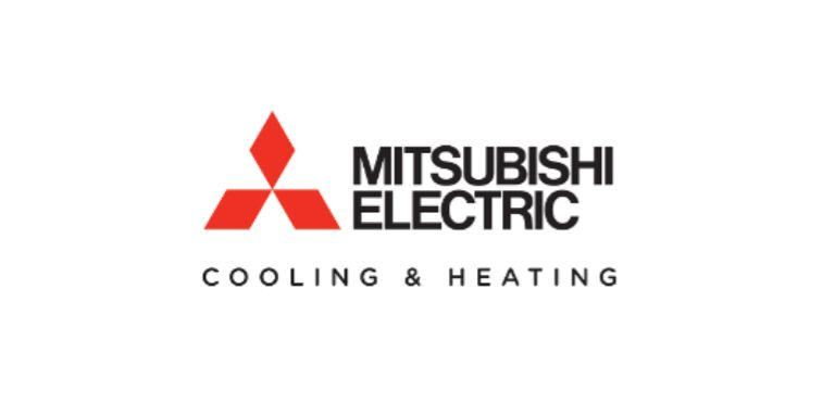 Mitsubishi Electric Cooling & Heating logo.