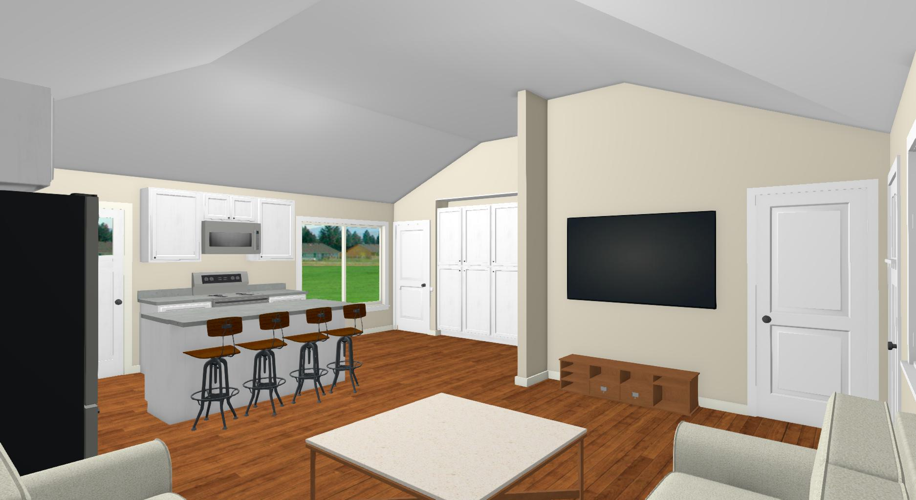 Home rendering from the University of Denver team.