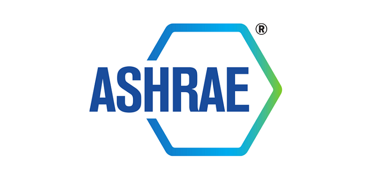 American Society of Heating, Refrigerating and Air-Conditioning Engineers (ASHRAE) logo.