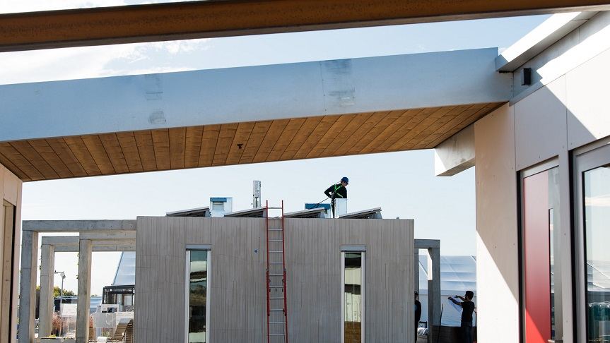 Congratulations to the Solar Decathlon 2020 Build Challenge teams!