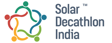 Solar Decathlon India logo.