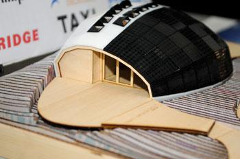 Photo of a model of TRTL.