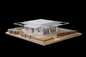 Photo of a model of perFORM[D]ance House.