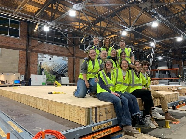 Photo of the University of Colorado, Boulder team, winners of the 2020 Build Challenge.