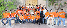 Photo of members of the University of Texas at El Paso  and El Paso Community College Solar Decathlon 2013 team.